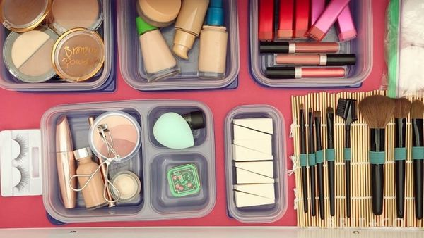 This Genius Hack Will Get Your Makeup Drawer Organized AF