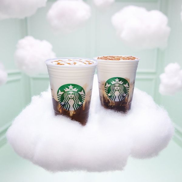 You'll Be on Cloud Nine With Starbucks's New Dreamy, Foamy Drinks
