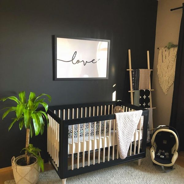 Sorry, Pastels: These 9 Spaces Prove Black Is The Trendiest New Nursery Color