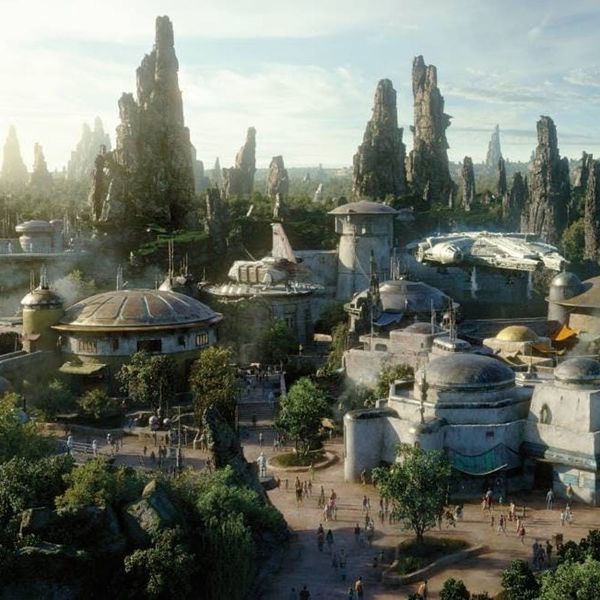 Disney's New 'Star Wars' Land Looks Out of This World