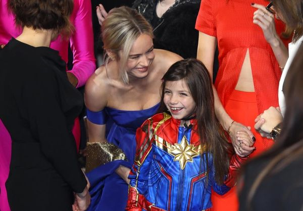 Brie LarsonMeeting a Little Girl Dressed asCaptain MarvelIs the Best Thing You'll See Today