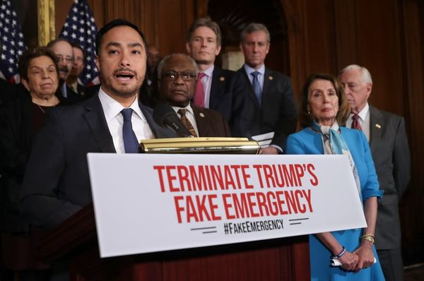 The House Voted to Block Trump's National Emergency, But Trump Still Has the Upper Hand