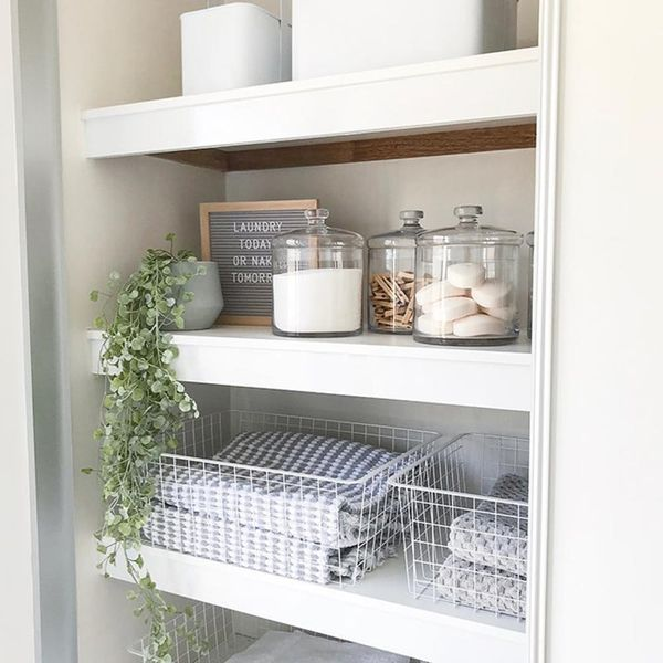 11 Linen Closets on Instagram to Inspire You to Finally Organize Yours