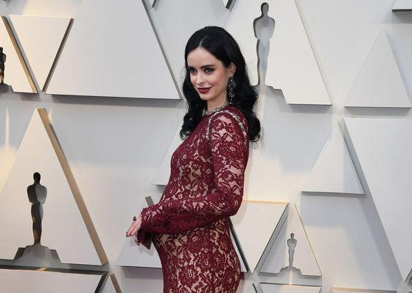 Krysten Ritter Revealed Her Pregnancy on the 2019 Oscars Red Carpet