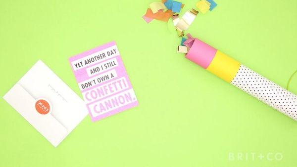 How to DIY a Confetti Cannon
