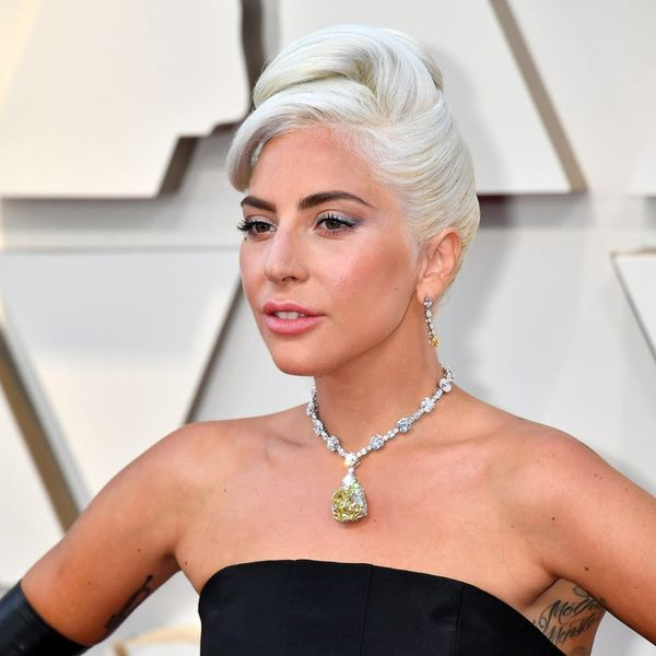 Lady Gaga Wears the Same 130-Carat Tiffany Diamond as Audrey Hepburn to Oscars 2019