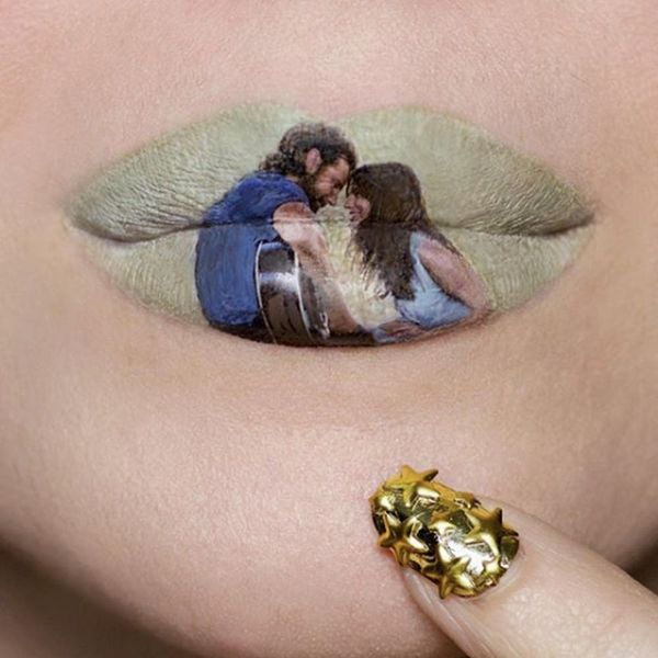 Makeup Artist Ryan Kelly Recreated Oscars' Best Picture Nominees… on Her Lips