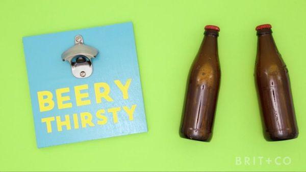 How to DIY a Beer Opener