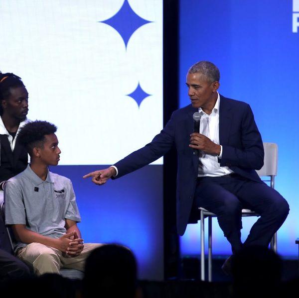 Barack Obama Has a Perceptive Theory About Toxic Masculinity