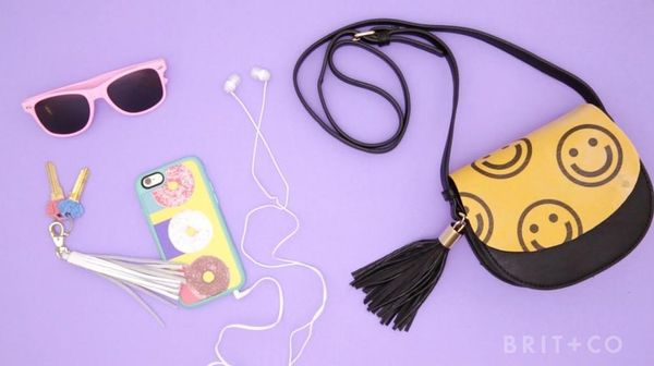 How to Make a Smiley Face Tote