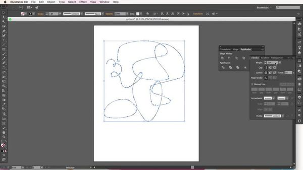 How to Use the Pencil Tool in Adobe Illustrator