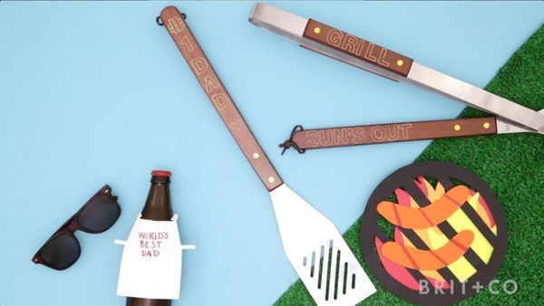 How to Make an Engraved Grill Set for Dad