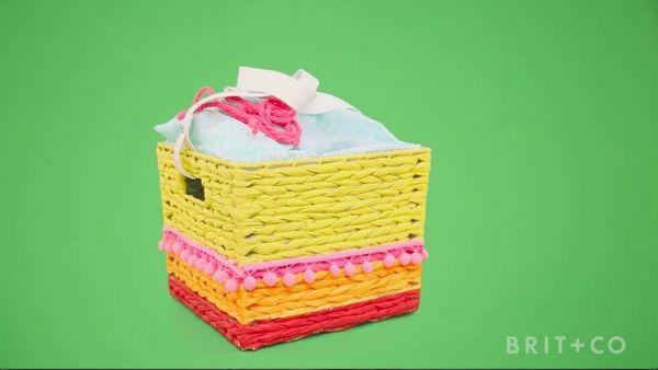 How to Make a Picnic Basket