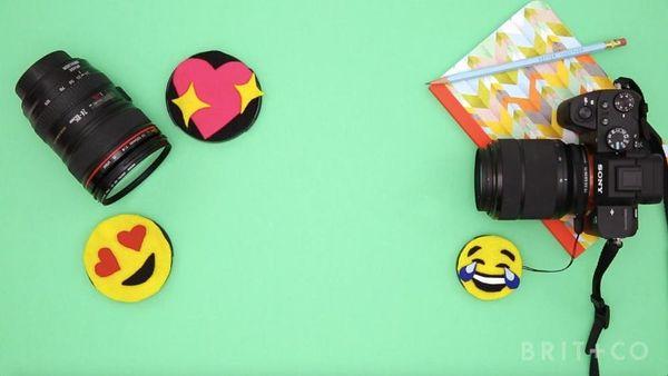 How to DIY Emoji Lens Caps