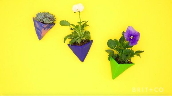 How to DIY Magnetic Sculpey Planters