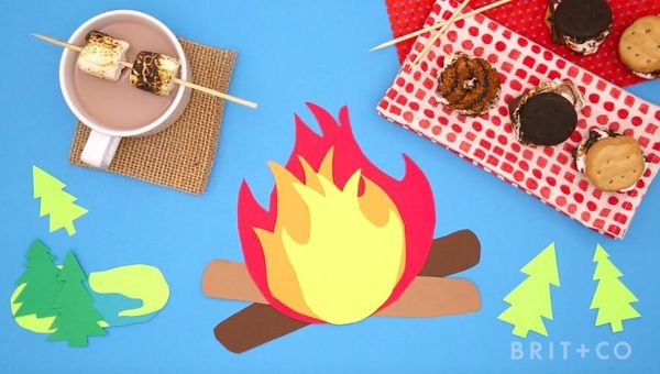How to Make Girl Scout Cookie Smores