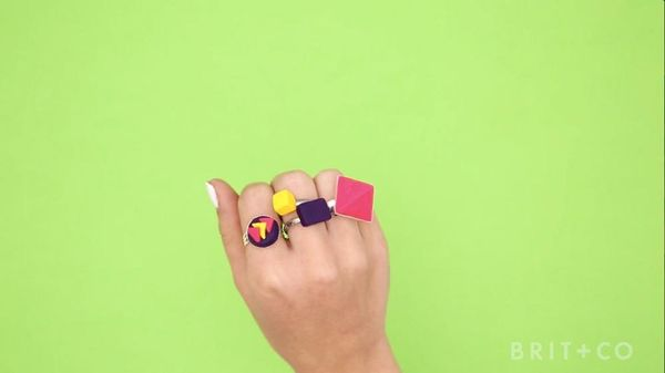 How to Make Sculpey Rings