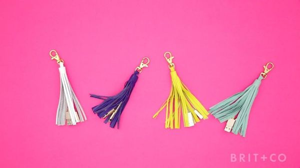 How to Make a Tassel Keychain Charger