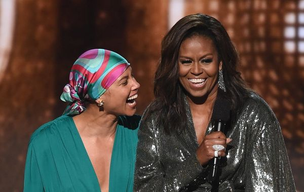 Michelle Obama's Mom Sent Her the Funniest Shady Texts After the 2019 Grammys