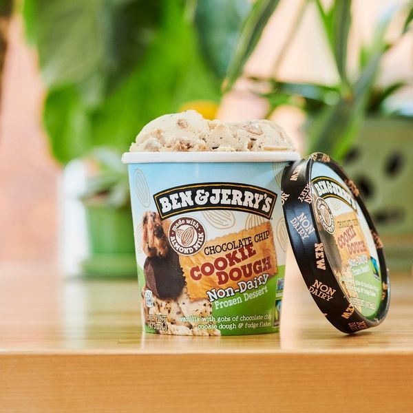 Ben & Jerry's Finally Releases a Vegan Chocolate Chip Cookie Dough Ice Cream