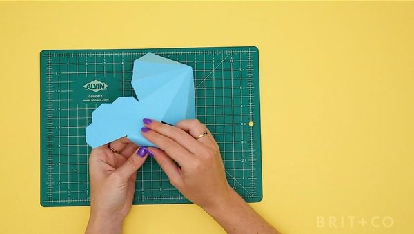 How to Make 3D Paper Gems