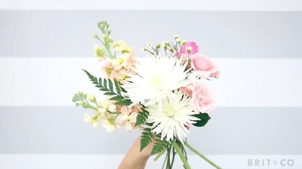 How to DIY a Bouquet