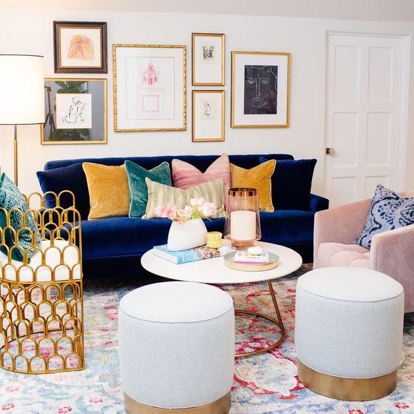 Tiffani Thiessen's Home Office Makeover Checks Off Every Major Decor Trend