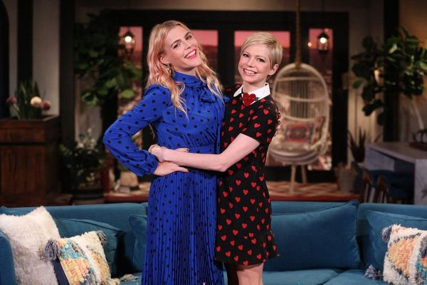 BFFs Busy Philipps and Michelle Williams Shared an Untold Secret About Their 'Dawson's Creek' Days