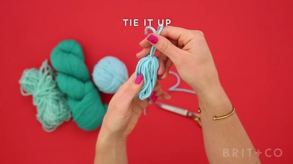How To Make Yarn Tassels