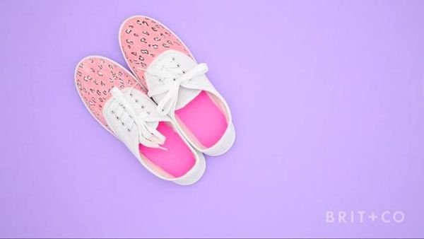 How To Give your Sneakers a Colorful Makeover