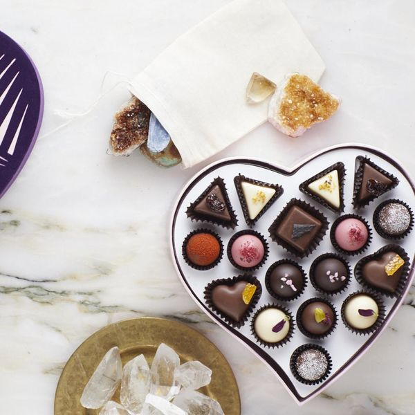 The Most Millennial Box of Chocolate Comes With Tarot Cards and Healing Crystals