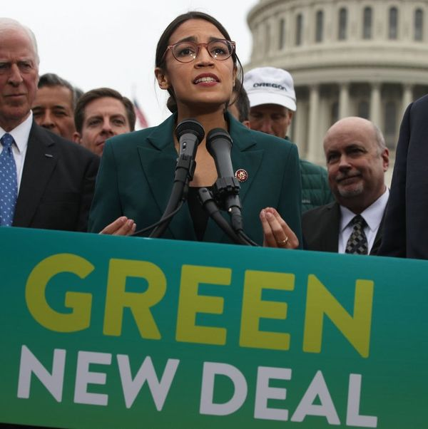 Here's Everything You Need to Know About Alexandria Ocasio-Cortez and Ed Markey's Green New Deal