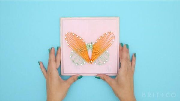How To Create a Nail Art Wall Hanging
