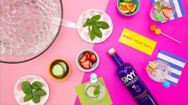 How to DIY the Perfect Summer Cocktail Bar