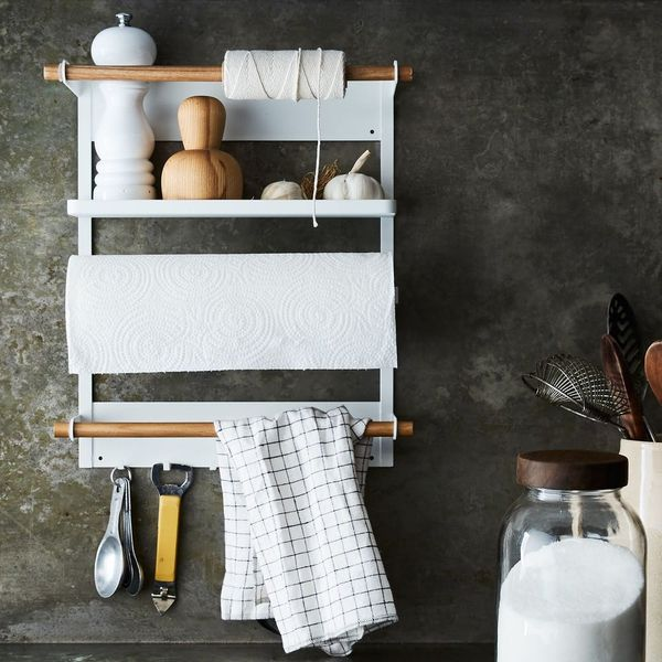 The Space-Doubling Kitchen Storage That Takes One Second to Install