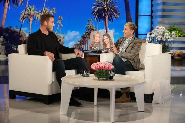 Ellen DeGeneres Shares Her 'Bachelor' Predictions With Colton Underwood