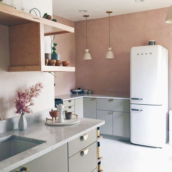 This Blogger's IKEA Kitchen Makeover Is Budget-Friendly *and* Fancy