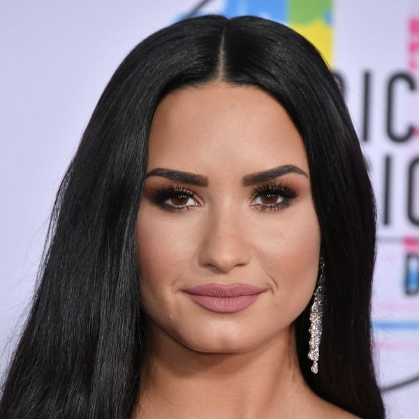 See Demi Lovato Looking Positively Angelic in a Mystery Wedding Dress
