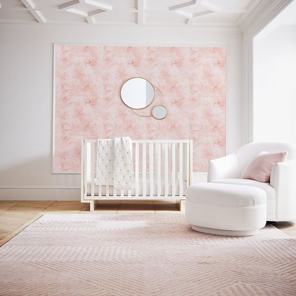This Nursery Wallpaper Collab Is So Stylish We Want It in Our Room