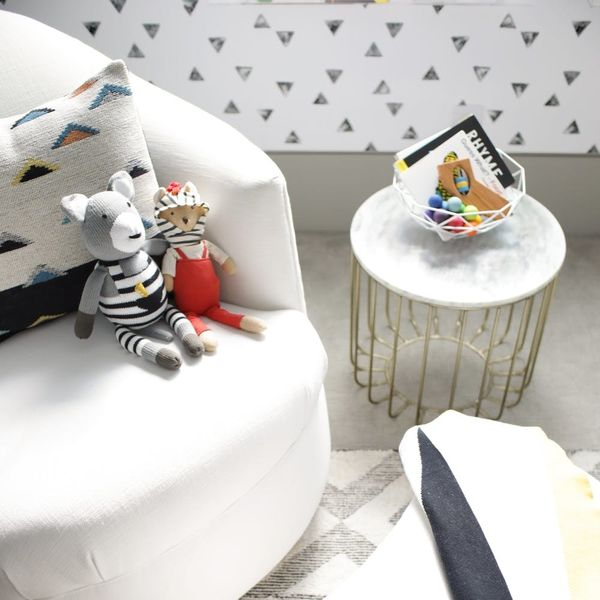 How to Steal the Look of Ayesha Curry's Playful-Meets-Deco Nursery