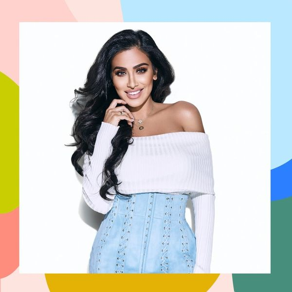 Huda Kattan's Latest Makeup Challenge Takes Place in an Elevator