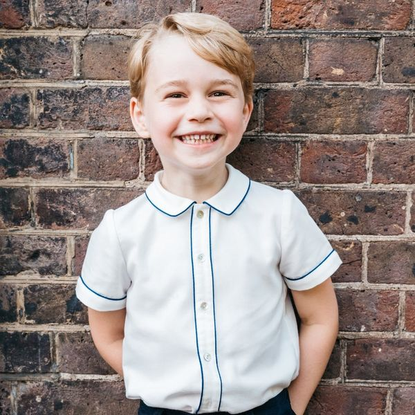 Prince George's 5th Birthday Portrait Will Melt Your Heart