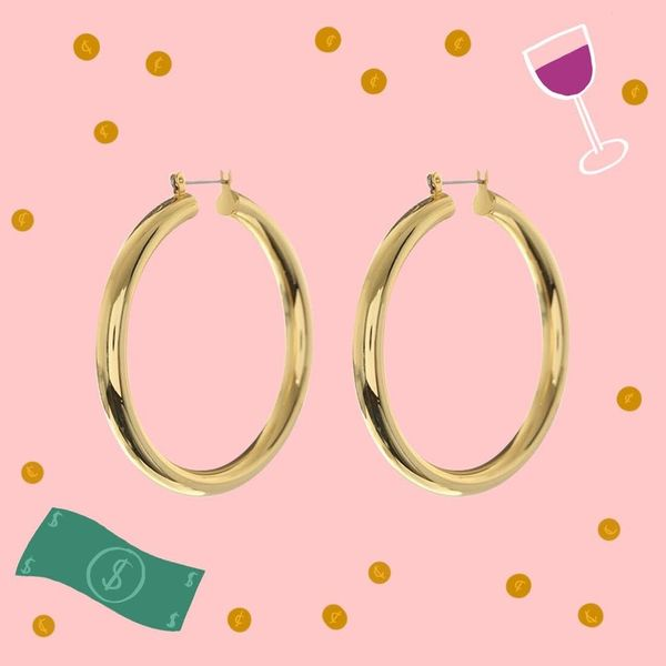 This Is What Happens When You Mix Rosé and the Search for the Perfect Hoops