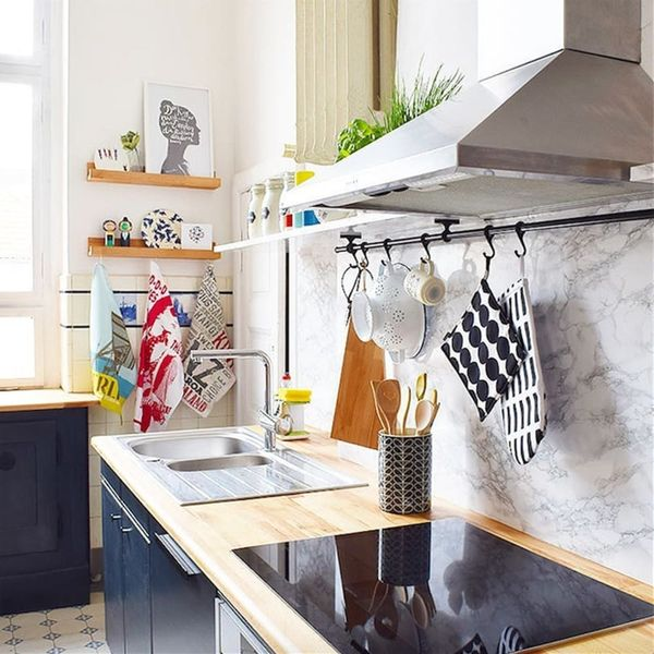 7 Renter-Friendly Kitchen Updates We Found on Instagram