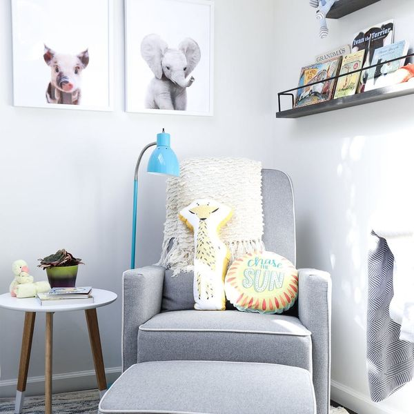 You'll Never Believe Which Tiny Room This Mom-to-Be Turned Into a Nursery