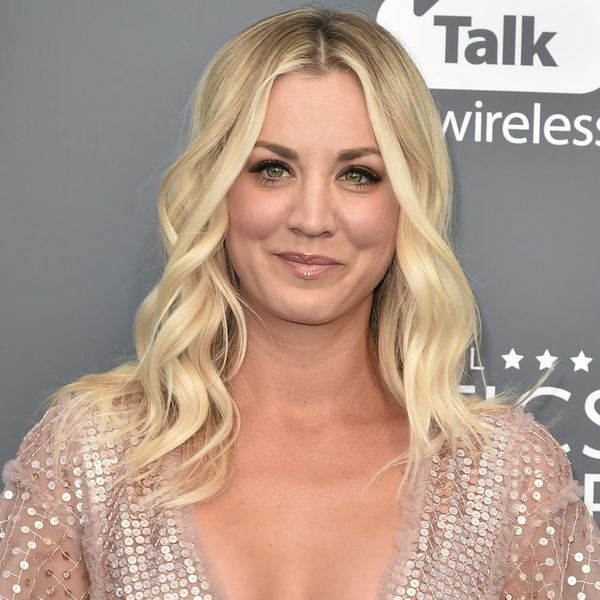 5 Perfectly Stunning Kaley Cuoco-Inspired Wedding Jumpsuits