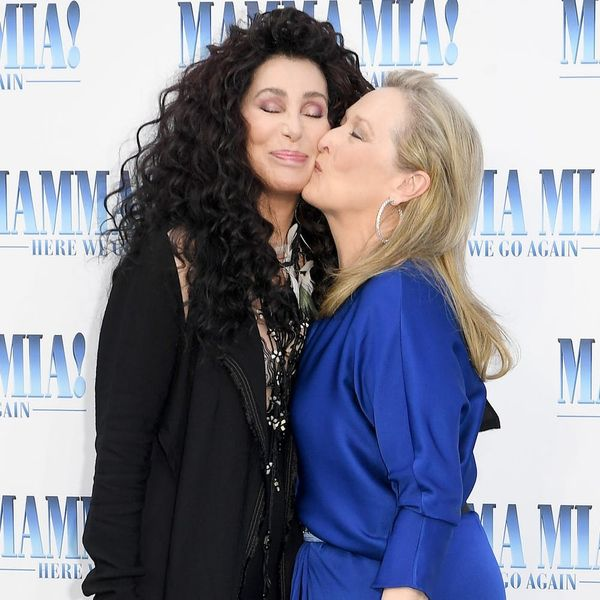 Meryl Streep and Cher Were Absolute Legends onthe 'Mamma Mia! Here We Go Again' Red Carpet