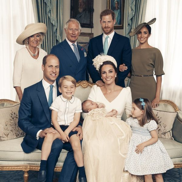 Prince Louis' Official Christening Portraits Are Too Adorable