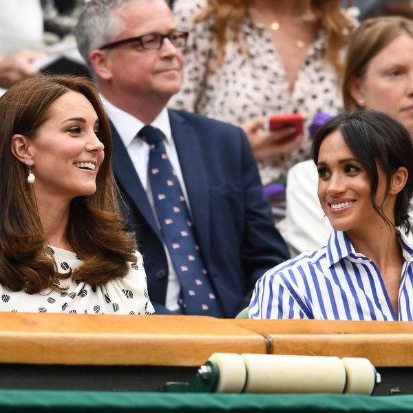 Duchesses Kate Middleton and Meghan Markle Had a Girls' Day Out at Wimbledon