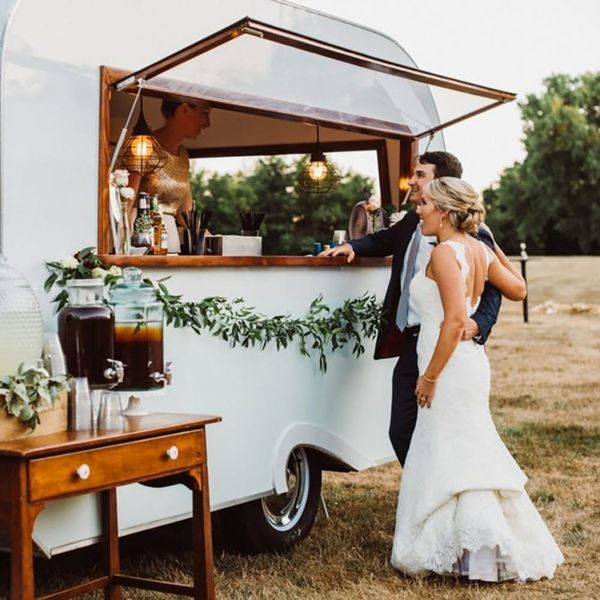 Mobile Bars Are the Latest Wedding Trend You Need Get On Board With